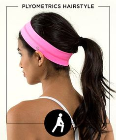 Forget a boring pony. Get the most out of your fitness game with these super-wearable (and ultra-adorable) gym-friendly hairstyles from Pinterest