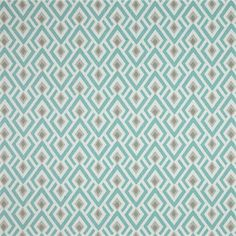This is a blue and gray arrowhead design cotton drapery fabric by Premier Prints Fabrics, suitable for any decor. Perfect for pillows, drapes and bedding.v1114HRF