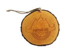 Custom Logo Engraved Tree Slice Ornament for Christmas Tree Custom Logos, Christmas Ornaments, Unique Jewelry, Handmade Gifts, Etsy, Kid Craft Gifts, Christmas Jewelry, Craft Gifts, Costume Jewelry