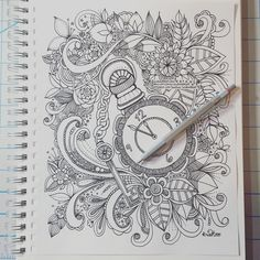 buy my coloring book:) http://amzn.to/1MRTkOw Etsy Shop: http://etsy.com/shop/kcdoodleart Music: Digital Solitude By: Silent Partner https://www.youtube.com/...