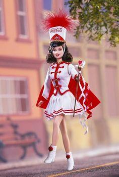 Coca Cola Barbie Majorette    http://www.angelicdreamz.com/Coca-Cola-Barbie-Majorette_p_10153.html