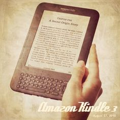 Vintage Amazon Kindle 3
