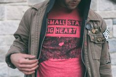 State Small State Big Heart™ Tee by Hartford Prints! | photo by www.nortnert.com