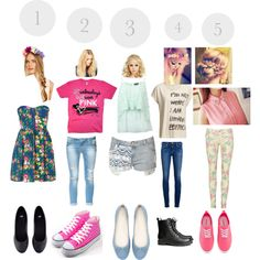 which one do you think is the prettiest outfit with hair