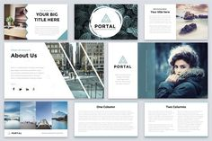 Portal Modern Powerpoint Template by Reshapely on Portal is a Clean and easy to customize Powerpoint Template. Each of the images used are under the license and are included Affiliate ad link. Good Presentation, Presentation Templates, Business Advice, Home Based Business, Create Powerpoint Template, Promotion Strategy, Change Picture, Slide Design, Web Design
