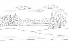 Forest Background Coloring Pages Google Search Sabbath