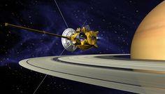 """Seit zehn Jahren lässt der Saturnorbiter """"Cassini"""" die Menschheit an faszinierenden Phänomenen aus der Umlaufbahn des Saturns teilhaben: Die filigrane Struktur der Saturnringe, Eisfontänen, die der Saturnmond Enceladus ins All schießt, oder Methanwellen auf dem Saturnmond Titan."""