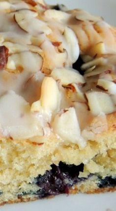 Fresh Blueberry & Almond Coffee Cake