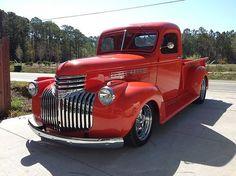 pick ups trucks 1946 Chevy Truck, Pickup Trucks For Sale, Chevy Pickup Trucks, Chevy Pickups, Chevrolet Trucks, Gmc Trucks, Cool Trucks, Lifted Trucks, Pickup Camper