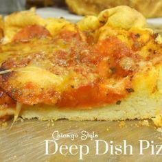 DIY Deep Dish Pizza
