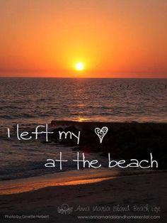 I left my heart at the beach - Anna Maria Island, Florida