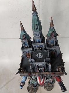 Imperial Knight, Warhammer 40k, Samurai, Art, Scale Model, Art Background, Kunst, Warhammer 40000, Performing Arts