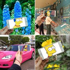 Artist Inserts Simpsons Characters Into Real Life Situations @francoisdourlen #boredpanda #thesimpsons