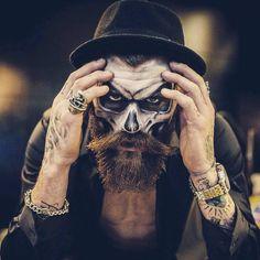 Résultats de recherche d'images pour « day of the dead makeup man »