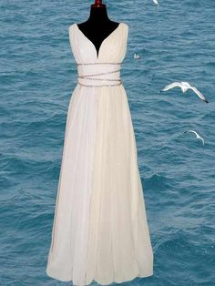 Wedding Dress,Real Image Sexy Beach Wedding Dresses Vestidos De Novia White A-line Beads Backless Chiffon Wedding Dress Bridal Gowns,Wedding Guest Prom Gowns, Formal Occasion Dresses,Formal Dress Greek Wedding Theme, Greek Style Wedding Dress, Goddess Wedding Dresses, Grecian Wedding Dresses, Wedding Gowns, Greek Dress, Roman Dress, Bridal Dresses, Prom Dresses