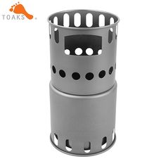 Outdoor Stoves Beautiful Boruit Camping Wood Stove Portable Outdoor Folding Titanium Wood Stove Burning For Backpacking Survival Cooking Picnic Hunting Easy To Repair
