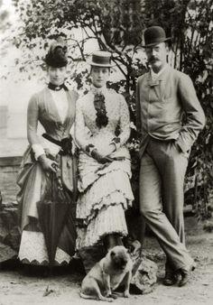 "Siblings ~ Empress Marie Feodorovna of Russia,Princess Alexandra of Wales and Prince Waldemar of Denmark. ""AL"""