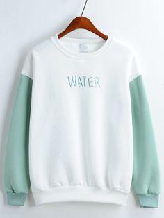 jersey letra bordada relax fit bicolor 13.44