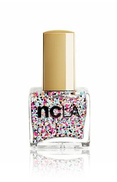 ncLA This Party Never Ends glitter nail polish