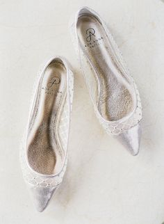 Gorgeous Silver Bridal Shoes {Coordinated by Moana Events}