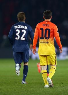 Messi  |  Beckham