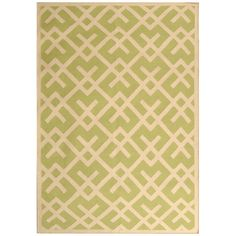 Safavieh DHU552A Dhurries Area Rug, Light Green/Ivory | Lowe's Canada