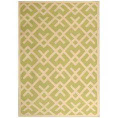 Safavieh DHU552A Dhurries Area Rug, Light Green/Ivory | Lowe's Canada