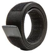 Loopbelt 35mm Black Buckleless Belt Belt Without Buckle, Two By Two, Black, Black People