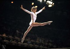 Nadia Comaneci - Winner of 3 gold medals at the 1976 Summer Olympics, the first female gymnast awarded a perfect score of 10, and winner of 2 gold medals at the 1980 Summer Olympics.