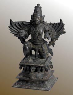 Garuda   South India Kerala  17th century  Bronze