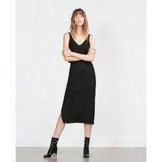 LONG STRIPED DRESS - View all - Woman - NEW IN | ZARA United Kingdom (£30) via Polyvore