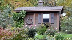 Ash Tree Cottage: Landscaping Around the Potting Shed