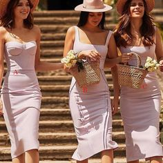 Lilac Bridesmaid Dresses, Wedding Bridesmaids, Wedding Dresses, Wedding Types, Wedding Pics, Wedding Ideas, Spring Outfits, Trendy Outfits, Perfect Wedding