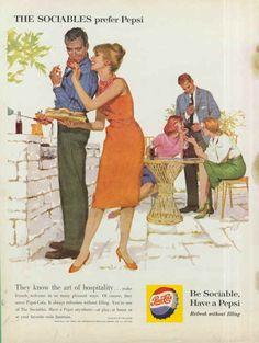 American vintage ad's: food and drink: ana_lee Vintage Advertisements, Vintage Ads, Vintage Images, Retro Ads, Vintage Food, Vintage Romance, Vintage Stuff, Vintage Pictures, Vintage Prints