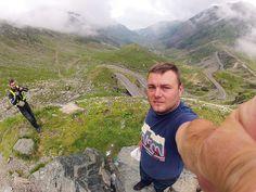 Self portrait at Motoride Transylvania