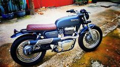 Suzuki ST400 Scrambler by Garage Tu Thanh Da #motorcycles #scrambler #motos | caferacerpasion.com