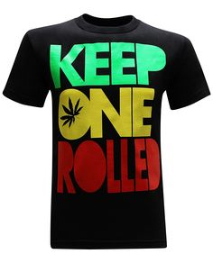 >> Click to Buy << Keep One Rolled 420 Pot Blunt Dank Weed Smoker Funny Men's T-Shirt Top Tee 100% Cotton Humor Men Crewneck T Shirts #Affiliate
