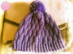 9fab079876 crochet hat pom pom teen-adult πλεχτο σκουφακι πομ πομ