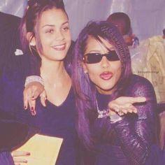 Aaliyah and Kidada Jones | Kidada Jones