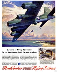 1943 ... swarms of Flying Fortresses! | Flickr - Photo Sharing!