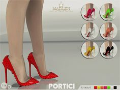 The Sims Resource: Madlen Portici Shoes by MJ95 • Sims 4 Downloads
