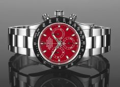 """Project X Custom Rolex Daytona """"Paul Newman"""" Tribute & Other Colorful Variants - by Patrick Kansa – See the interesting new designs, built on a modern Rolex 116520 Daytona, modified by Project X, to feature a few cool colors or to serve as a tribute to those highly desirable 70s """"Newman Daytonas""""; now on aBlogtoWatch.com — """"The Project X DS7 Custom Paul Newman Rolex Daytona and the other, colorful variations (Project X DS4, DS5, DS6) are as though some of the pieces from our """"Watch What-If""""…"""