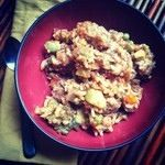 the Patchke Princess.com TURKEY VEGGIE RICE CROCKPOT STEW