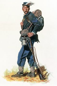 Union; 42nd Pennsylvania Volunteers 'The Bucktails' by Don Troiani
