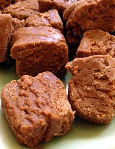 Easy butterscotch fudge recipe made with marshmallow creme and semisweet chocolate chips