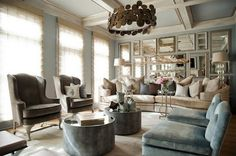 The mirrored wall is to die for!