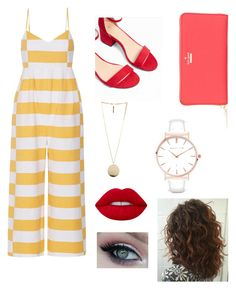 """""""Carpe diem"""" by emmamaria25 on Polyvore featuring Mara Hoffman, Express, Givenchy, Kate Spade, Abbott Lyon and Lime Crime"""