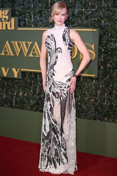 Nicole Kidman in a beautiful Alexander McQueen