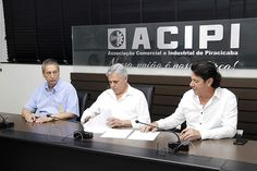 Na tarde de segunda (23), a Acipi e a Unimed Piracicaba assinaram o documento que oficializa o apoio cultural à Corporação Musical União Operária