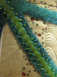 "Sue Spargo ~ ""It is amazing to me how much fun you can have with a few unique threads, ribbons and beads."""